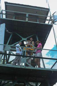 dari menara pandang