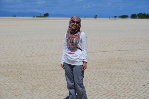 diantara gurun pasir lautan